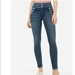 Express Ankle length Demin Perfect fit pants